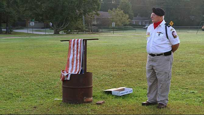 Remembering 9/11 at Honey Creek Elementary
