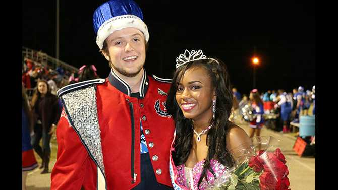 Heritage's Homecoming Royalty