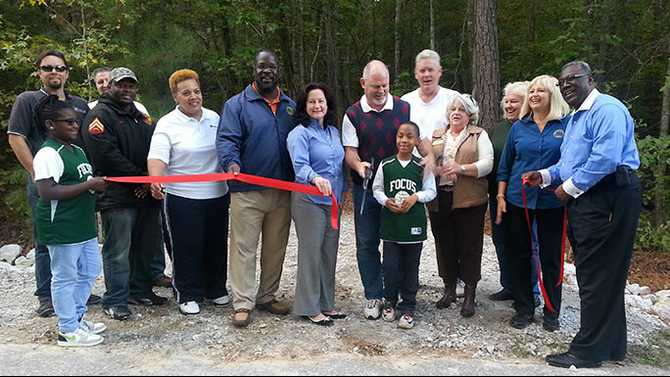 Black Shoals Retreat House complete, ribbon cutting next week