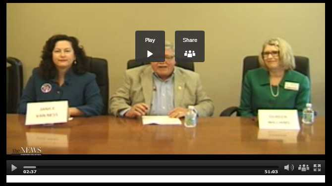 VIDEO: BOC Post 2 Commission Candidate Forum