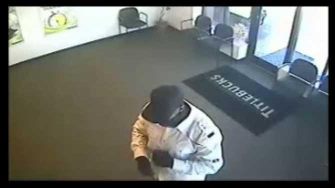 Armed robbery at Titlebucks on Ga. 20