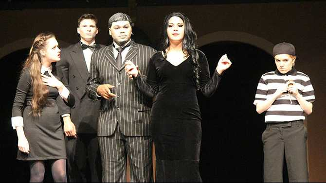 HHS Arts Academy shines in 'Addams Family' One Act performance