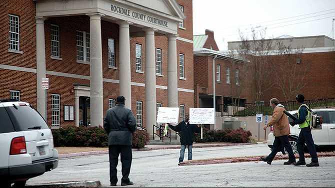 UPDATE: Contractor protests Probate Judge appeal