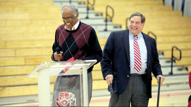 Legendary Coach Stroud honored