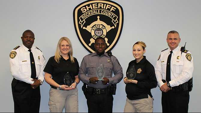Rockdale Sheriff's Office Employees of the Year honored