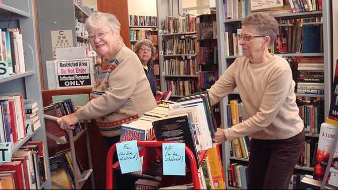 Friends of Library celebrates 30th anniversary