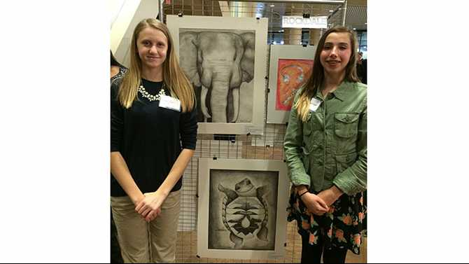 DMS, SCE students at Capitol Art Exhibit