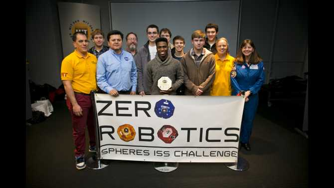 RMSST robotics team places third in world competition