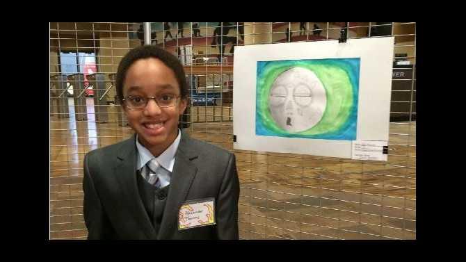 DMS, SCE students at Capitol Art Exhibit