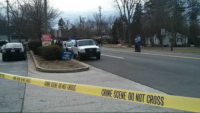 Officer-involved shooting in Social Circle