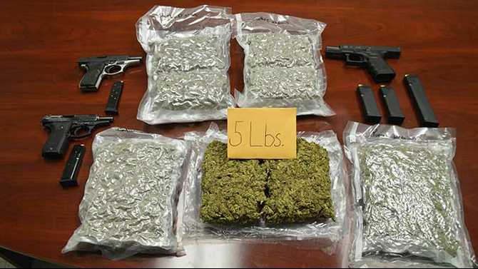 Man mailing marijuana packages arrested