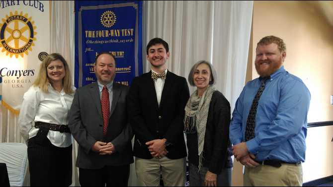 Rotary honors STAR students, teachers for 2015