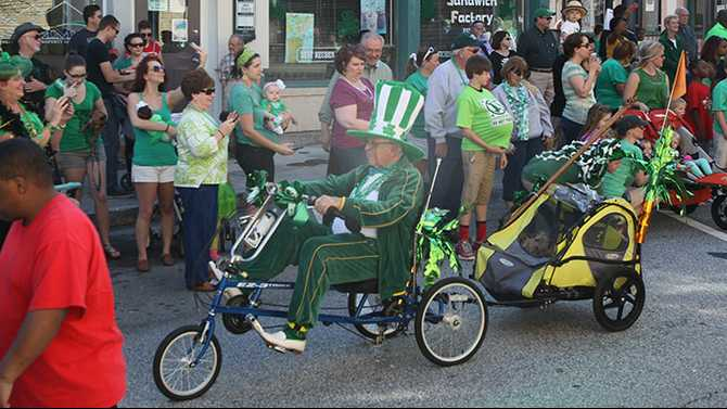 Bumper turnout for St. Patrick's Day festivities in Olde Town Conyers