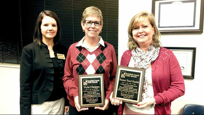 First Baptist's Chesney, RCPS's Smith named Barnes Honorary Social Worker awardees