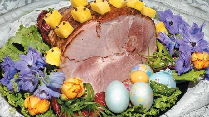 Lend a ham Easter donation for seniors