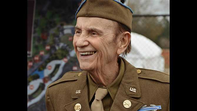 Bud Sosebee, former commissioner and WWII veteran, passes away, leaves legacy in Walk of Heroes
