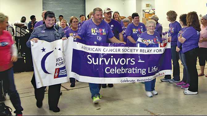 Rain no problem for Rockdale Relay for Life