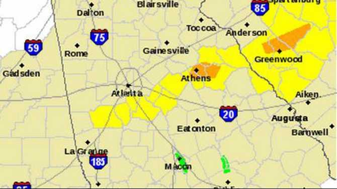 Tornado watch issued until 8 p.m.