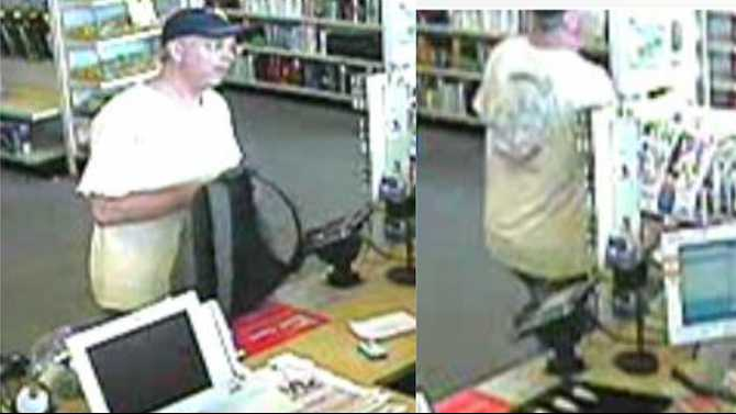 UPDATE: Grey-haired robber arrested, wanted for robberies of Rockdale, Newton, DeKalb drugstores