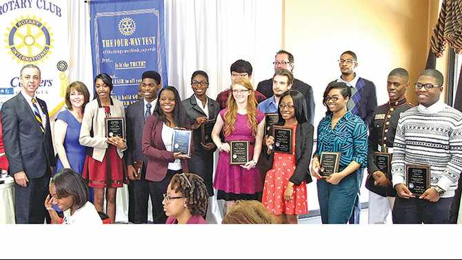Rotary honors Top Seniors