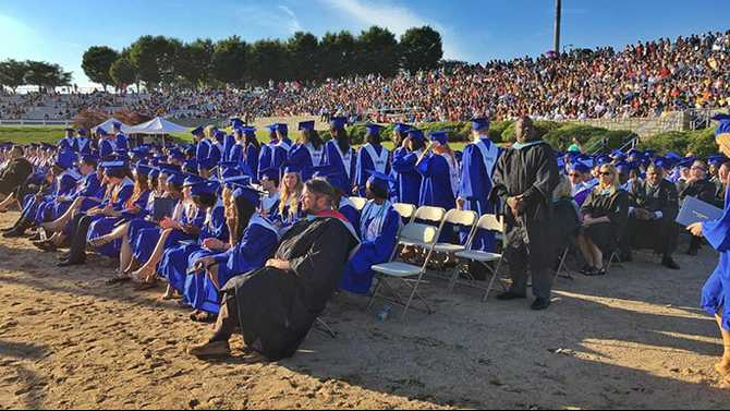 Live Stream of high school graduations