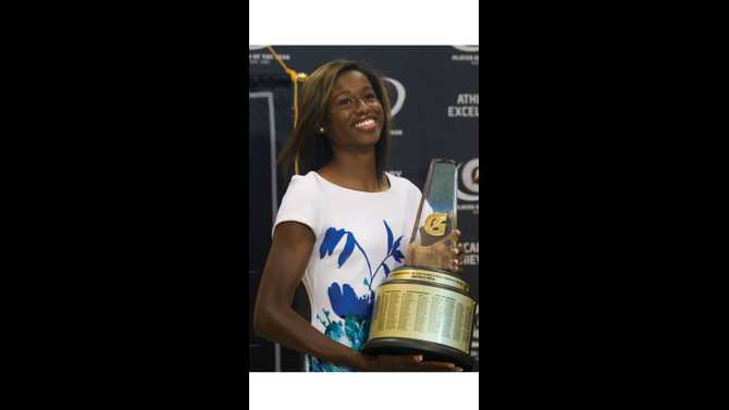 Candace Hill named Gatorade Girls Track Athlete of the Year