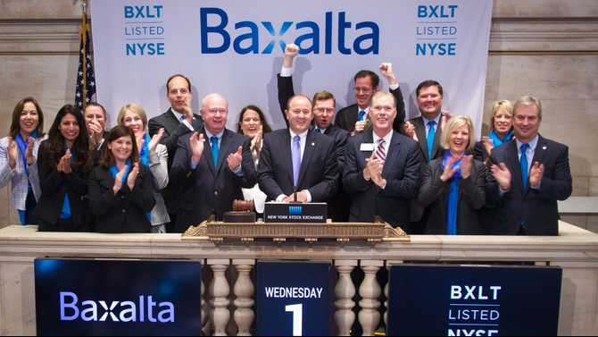It's official: Baxalta launches