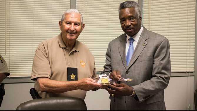 Jack Simpson celebrated as oldest deputy in Ga.