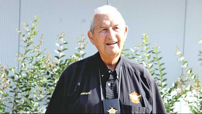 Simpson, WWII veteran and former FBI, honored as oldest deputy in GA