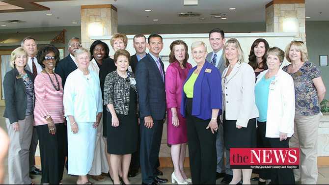 GA First Lady Sandra Deal visits Rockdale Medical Center