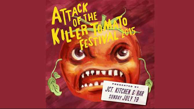 Welcome to Your Weekend: Attack of the Killer Tomato