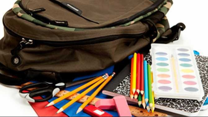 School supply giveaways July 18-Aug. 15
