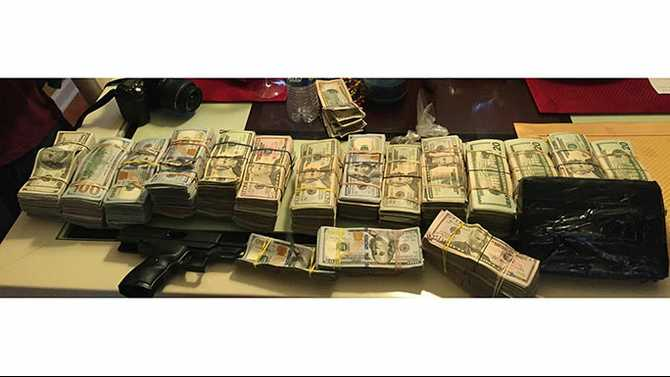 Large cocaine, cash bust in north Rockdale