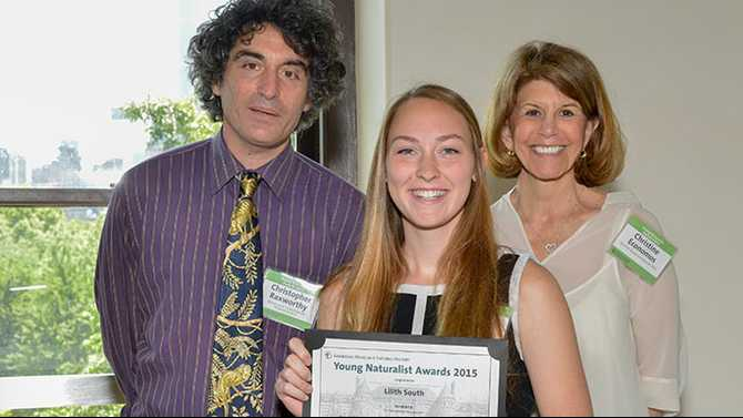 RMSST student wins Young Naturalist Award