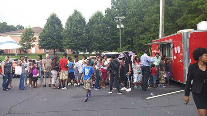 Exceeding Expectations: Large turnout for Gregory B. Levett Back to School Fair