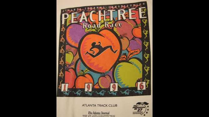 20 Years of Running the Peachtree