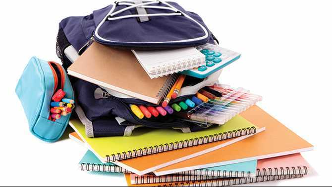 Back to school tax holiday July 31-Aug. 2