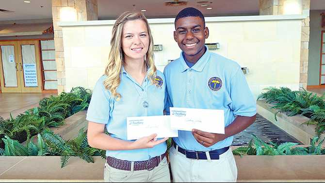 RMC Auxiliary awards Volunteens Scholarships