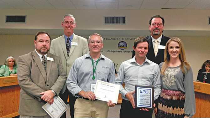 Lexicon honored with state Business Partnership Award