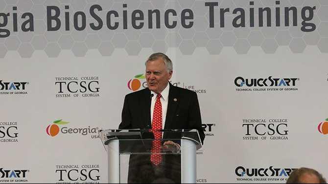 Georgia celebrates BioScience Training Center