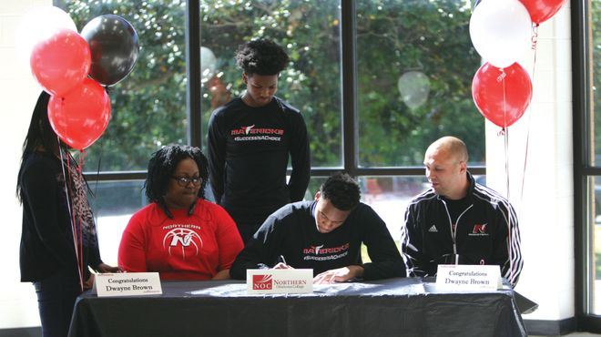 Brown signs with Northern Oklahoma