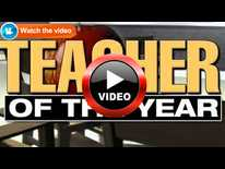 Teacher of the Year Finalist