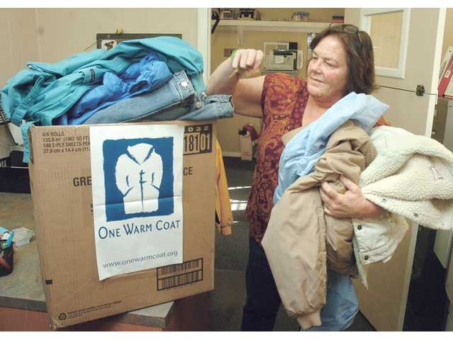 Coat drive held for SCV emergency winter shelter
