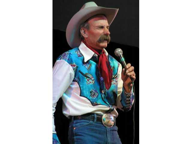Cowboy poet, storyteller and former large-animal veterinarian Baxter Black is a headliner of the 2009 Santa Clarita Cowboy Festival, as he was in 2007 and, pictured here, 2005. If it's an odd year, he'll be here.