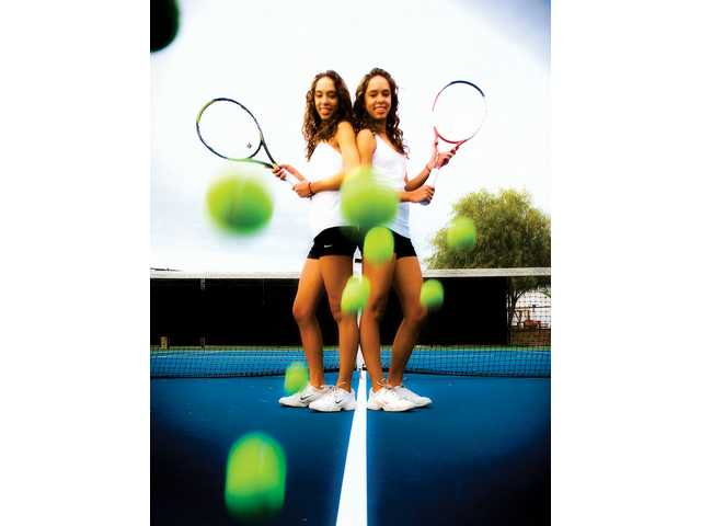 Valencia sophomores and twin sisters Clarice and Emily Fraczek have been  named the 2008 All- ...