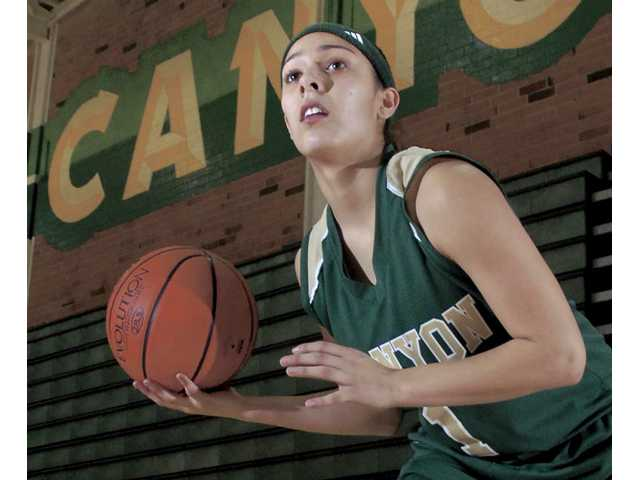 Canyon senior Brooke LeMar directs the Cowboys' run-and-gun offense from the point guard spot in her third season as a starter. The Southern Illinois University-bound senior leads a balanced squad in scoring, assists and steals.