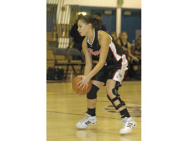 Kelli Lewis, Hart High point guardToughest Athlete