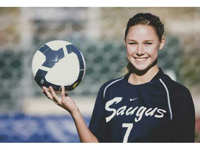 Saugus' Erin Ortega is a four-year varsity player and will serve as a team captain for the second consecutive year. Ortega will lead the squad in its bid to repeat as league champions.