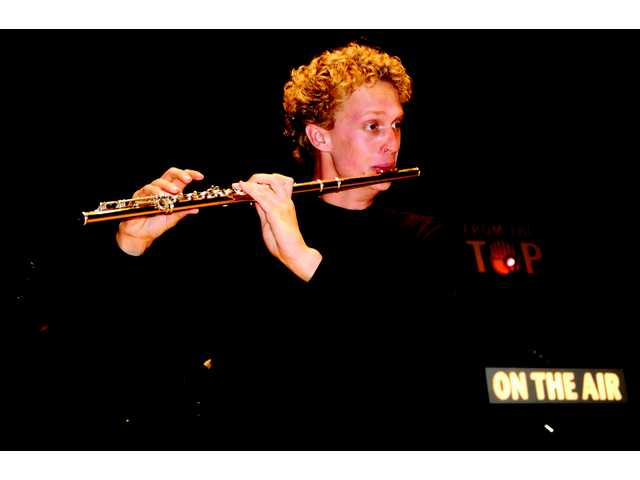 "Flutist Doug DeVries, 18, guests on Sunday morning radio, NPR's ""From the Top."""