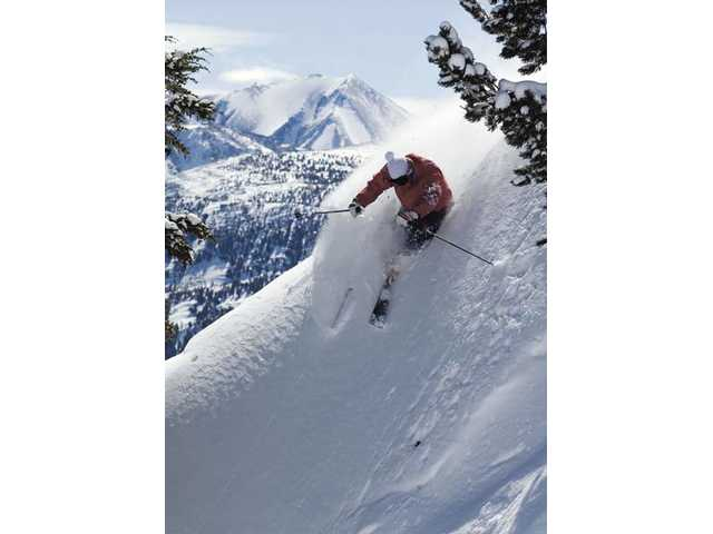 Mammoth Mountain offers groomed slopes and off-track adventure.